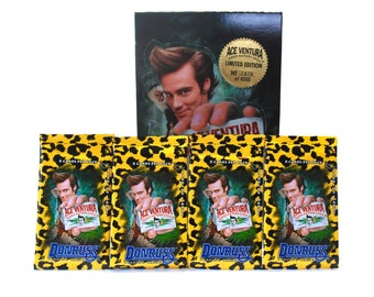 4 Ace Ventura When Nature Calls Trading Card Packs by Donruss 1995