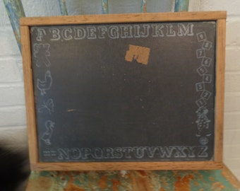 Cute Childs Chalkboard Box with Handle