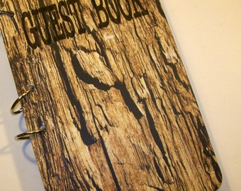 Guest Book, Lumberjack Birthday, Woodland  Party Sign in Book, Lumberjack Baby Shower Guest Book, Rustic Party,  First Birthday