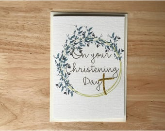 Christening, Communion, Confirmation Card