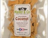 Coconut Gourmet Dog Treats - Mini - 1/2 Lb