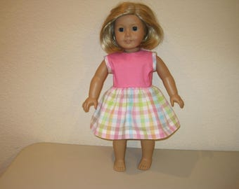"""18"""" Doll dress  clothes to fit American Girl Dolls"""