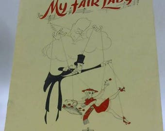 My Fair Lady Theatre Royal Programme 1958 1490173302RF