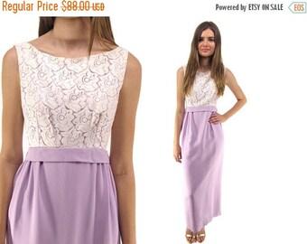 On Sale - 60s Lace Sheath Dress, Party, Cocktail, Evening Dress, Sheath Maxi Dress, 60s Prom Dress Δ size: md