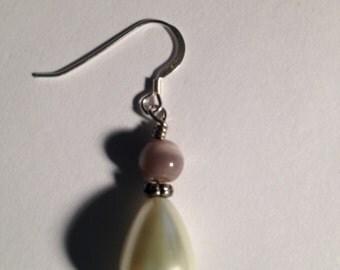 Wedding Bells: Handmade Beaded Earrings