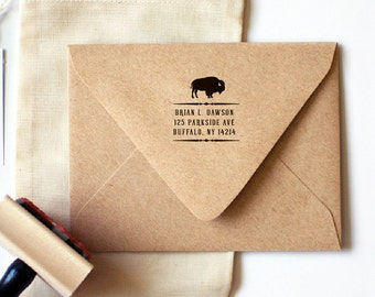 Buffalo Return Address Stamp