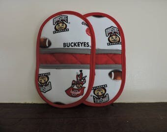 Mini Microwave MItts-Oven Mitts-Pinchers-Ohio State Buckeyes-Free Shipping