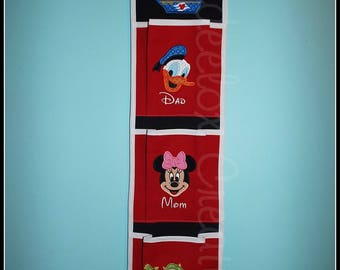 3 Pocket Fish Extenders for Disney Cruises Custom Orders Only
