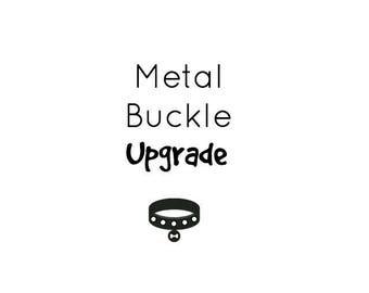 UPGRADE to Metal Hardware- Buckle/Slide/D-ring