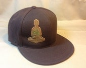 Inner Ohm - patchwork fitted hat size 7 3/8