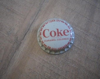Coke Bottle Cap Never Used