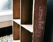 Vintage Dr Pepper Crate / Vintage Soda Crate / Wooden Crate