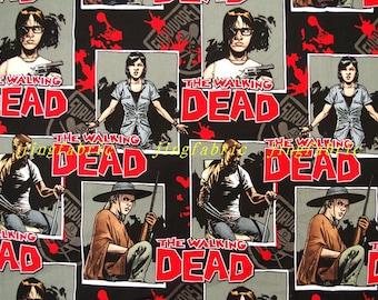 C361 - 108cmx100cm Cotton Fabric - The Walking Dead Sodiers