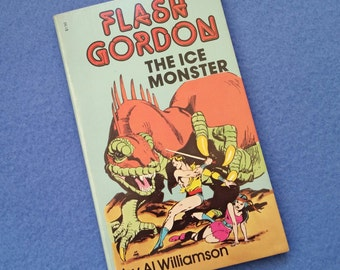 Flash Gordon The Ice Monster, near mint vintage comic book graphic novel by Al Williamson 1966, 1968