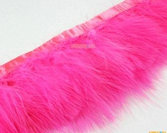 1 Yard Pink Feather Trim (YM298)