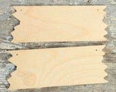 Unfinished Wood Sign - Ready For You - Set Of Two - Wood Supply - DIY Occasion Sign - Wedding Sign