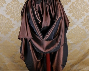 10% OFF Basic Taffeta Skirt -- Custom Made in Your Size and Color Choice