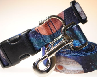 "Out of This World Collar and Leash Combination - 1"" Width"