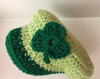 Crocheted Baby Beret (Golf Hat/Tam)