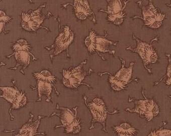The Lorax Fabrics Cotton by the yard Dr. Seuss Earth stripe