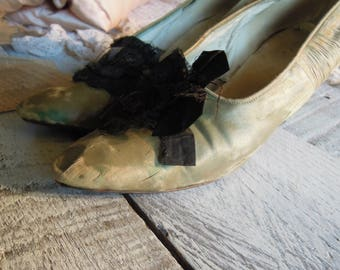 Silk wedding shoes Etsy