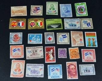 27 Hondoras stamps many mint