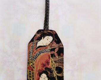 Two Geishas Luggage ID Tag