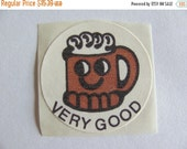 ON SALE Very Rare Vintage CTP Matte Scratch and Sniff Rootbeer Sticker from 1977 - Root Beer Mug Collectable 77 Ctp77 Very Good