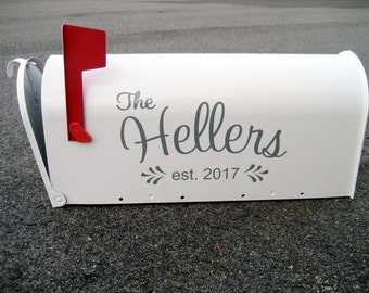 Custom Wedding Card Mailbox - Wedding Card Box - Monogrammed Letter Box -  Wedding Reception Card Box - Mail Holder
