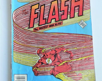 DC 2 flash comics books feb 1981 #294 and dec 1981 #314