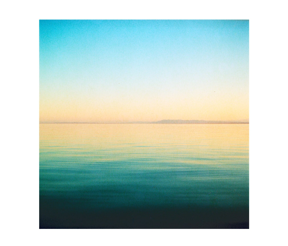 Print Only Salton Water Waves California Film 120mm