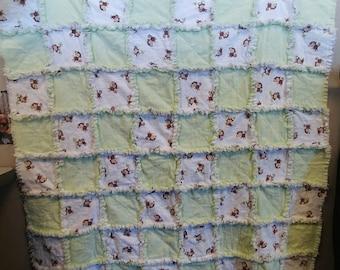 Flannel Rag Quilt- Baby