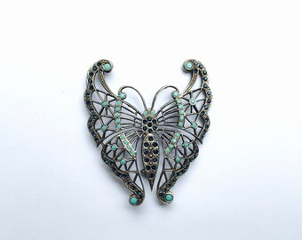 Stylised Butterfly Brooch