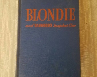 Blondie and Dagwood's Snapshot Clue. 1943. 5th edition. Some wear. All pages accounted for.