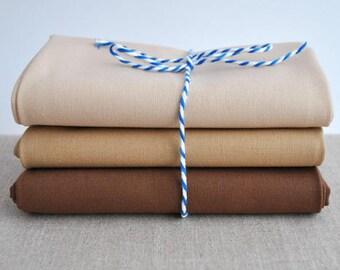 Robert Kaufman Kona Cotton Flesh Tones Fat Quarter Bundle
