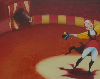 Children's illustration Circus Ringmaster