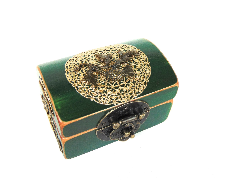 Engagement Ring Box Ring Bearer Box Thistle Box Scottish