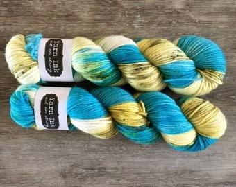 SALE superwash {dk}   QUARRY   ready to ship   hand dyed yarn   merino