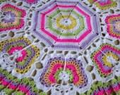ON SALE - 10% OFF Butterflies Crochet Blanket