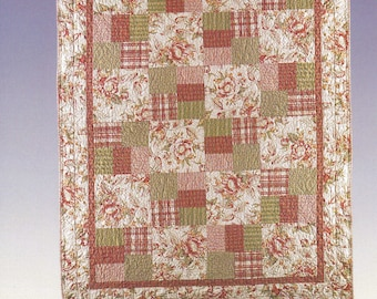 New Just Can't Cut It Quilt sewing pattern by All Washed Up #AWU-01