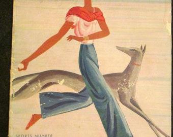 1930 VOGUE Fashion MAGAZINE