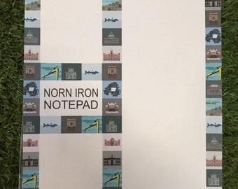 Norn Iron notepad