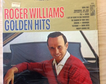 Roger Williams Golden Hits Vintage LP Album, Released 1967, Kapp Records KS-3530, Vintage Vinyl