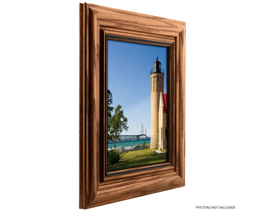 Craig Frames 22x28 Inch Honey Brown Picture Frame Colonial