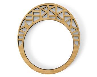 Wooden bangle - Statement bracelet - eco friendly jewelry - statement bracelet - statement jewelry - wooden bracelet - bangle bracelets