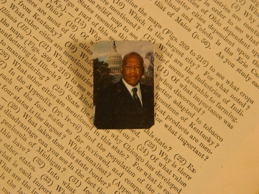 Ruby Wedding Gifts John Lewis: Solidarity Jewelry Rep. John Lewis Lapel Pin Brooch Love