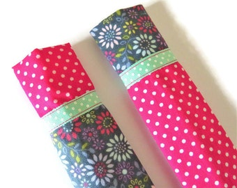 2 x Protective Sleeve For Emery Board - Nail File Case - Emery Board Cover - Emery Board Cases - Nail File Covers