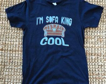 I'm Sofa King Cool - Men's Navy Small Shirt