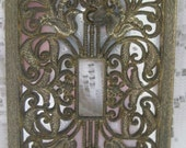 On Sale Vintage Filigree Light Switchplate Cover Home Wall Decor