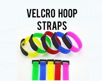 Hula Hoop Velcro Straps - 4 per order - Hoop Transport Travel Collapsible